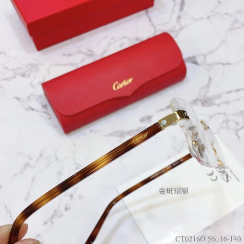 Cartier Eyeware CT0216O Eyeglass Optical Frames FCA327