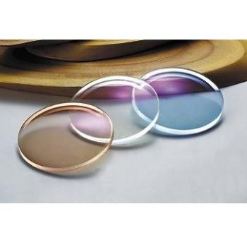 For Sunglasses & Eyeglasses Color changable Super Thin 1.60 High Index Photochromic Transition Lens