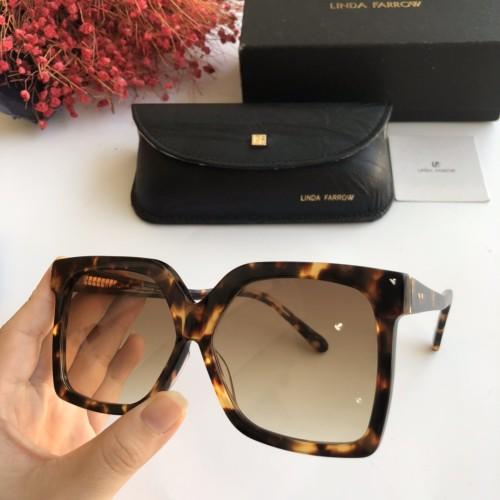 Wholesale Replica 2020 Spring New Arrivals for Linda Farrow Sunglasses LF981 Online SLF004
