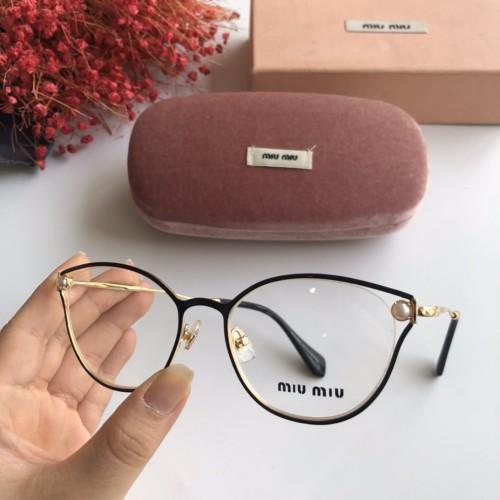 Wholesale Replica 2020 Spring New Arrivals for MIU MIU Eyeglasses MU53QV Online FMI160