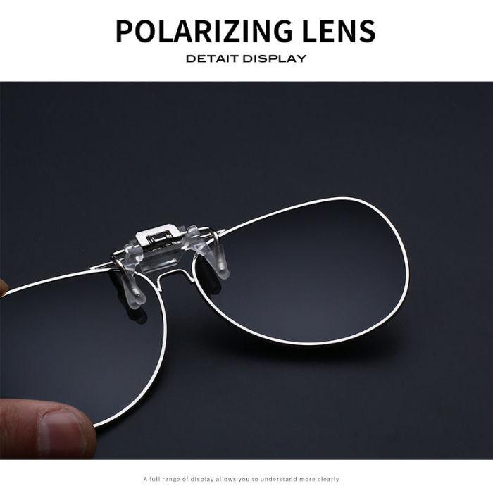 Polarized Mercedes-Benz Sunglasses clip
