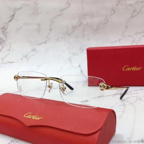 Cartier Metal CT0148O Eyeglass Optical Frames FCA323