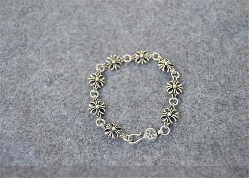 CHROME HEARTS Cross 925 Silver Bracelet CHB005