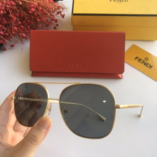 Replica FENDI Sunglasses FF0376 Online SF117
