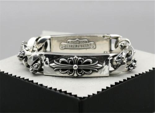 CHROME HEARTS Hip Hop 925 Sterling Silver Bracelet CHB006