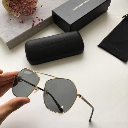 Quality cheap Copy Alexander Mcqeen Sunglasses AM0096 Online SAM044