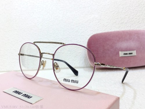 MIU MIU Glasses For Women VMU51 Eyeware Optical Frame FMI165