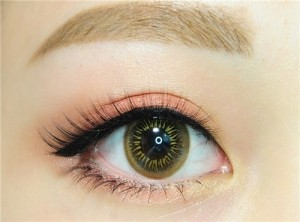 Enlarge Colored contacts cheap Eye's color Brown