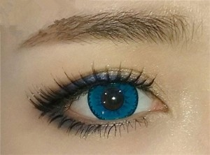 Party Contact lenses color Mystery Blue