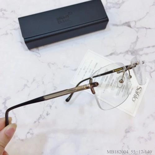 MONT BLANC Glass MB182004 Eyeware Optical Frames FM372