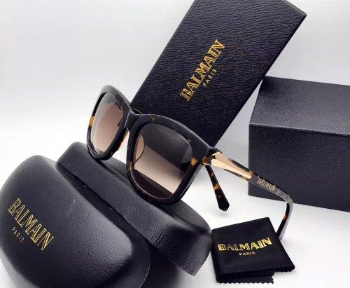 Wholesale  online BALMAIN Sunglasses Leopard Head Sculpture SBL010