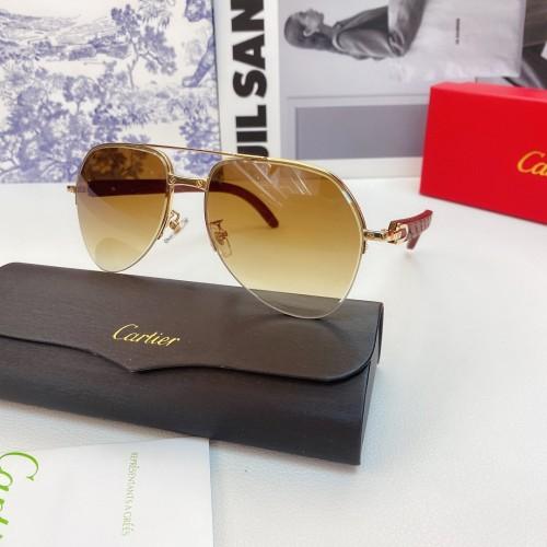 Cartier Sunglasses Wood Leg CT0673 Wooden CR160