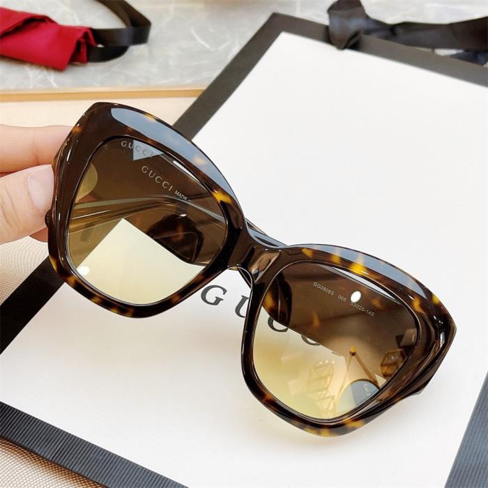 Cat eye sunglasses brands Replica GUCCI GG0808S SG713