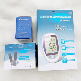 China Professional Manufacture Quick Check Digital Blood Glucose Tester