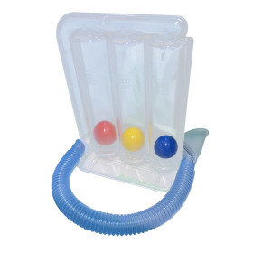 Factory Lung Home Exercise Respiratory Three Ball Breathing Trainer