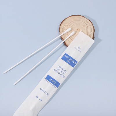 Medical Sample Collection Swab Sterilized Long Cotton Buds