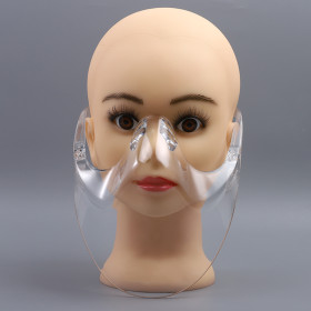 Wholesale Factory Directly Anti-spray Fogging Face Shield Protective Mask