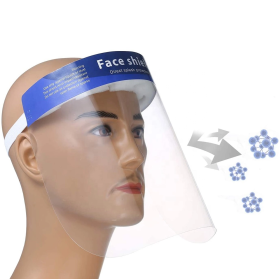 Factory Hot Selling Clear Anti-fog Splash-Proof Medical Face Shield