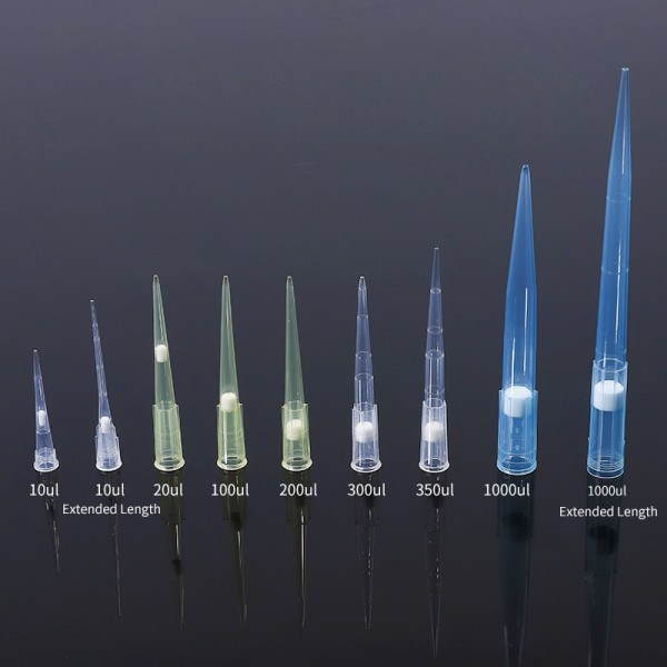 Filter Pipette Tips Micro Pipette Tips Box Factory Supply Price US$1.50/Box