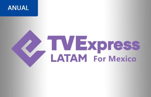 RECARGA TVEXPRESS 365 DIAS NO MEXICO
