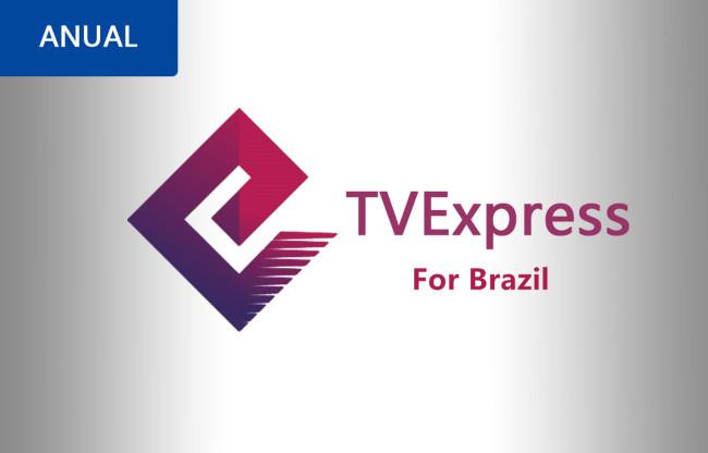 RECARGA TVEXPRESS 365 DIAS NO BRAZIL