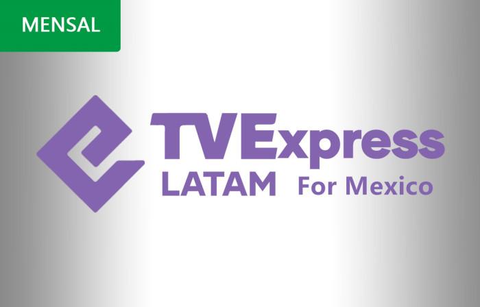 RECARGA TVEXPRESS 30 DIAS NO MEXICO