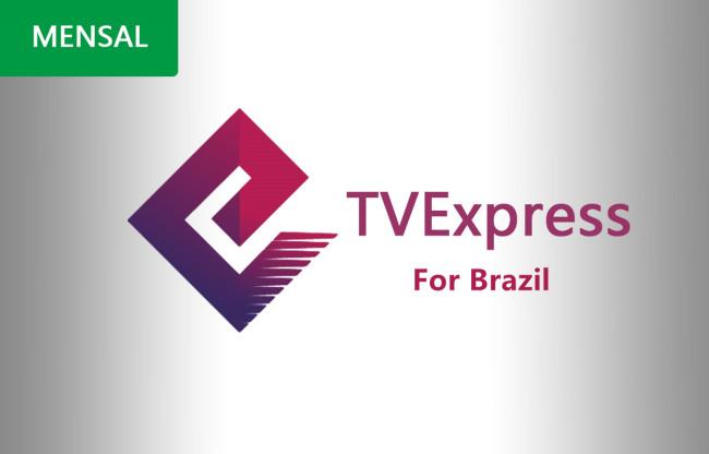 RECARGA TVEXPRESS 30 DIAS NO BRAZIL