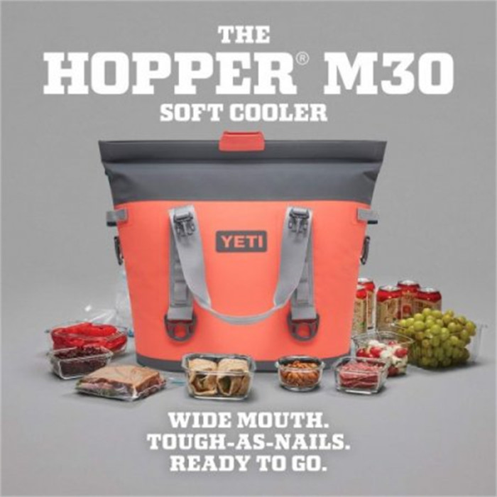 HOPPER M30 SOFT COOLER - CORAL