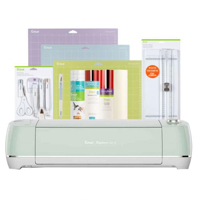 Cricut Explore Air™ 2, Mint + Essentials Bundle