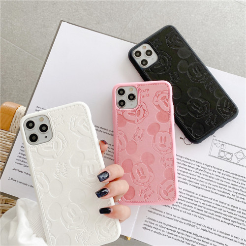 Cute Mickey is suitable for Apple mobile phone protective case