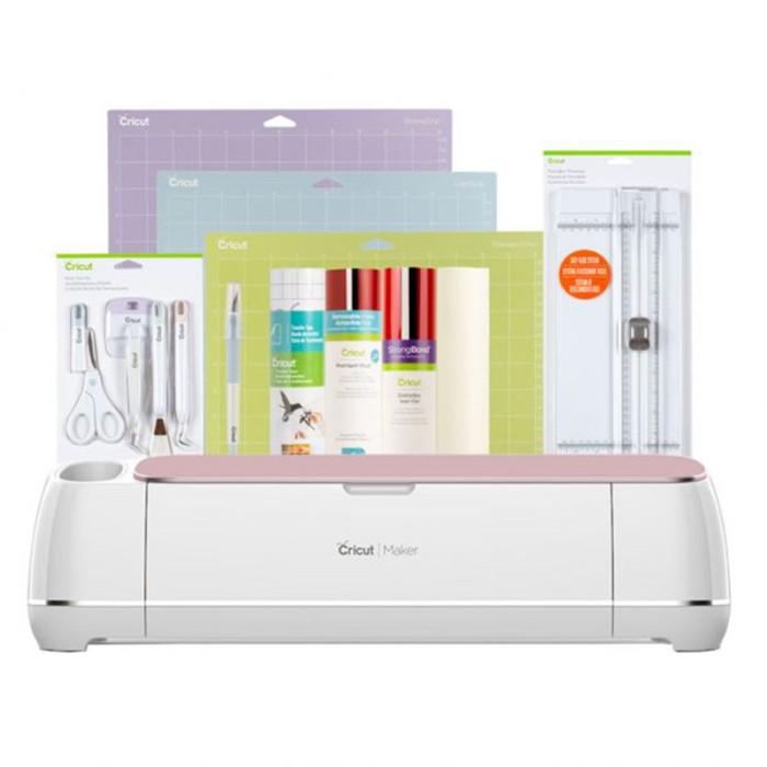 Cricut Maker® + Essentials Bundle, Rose