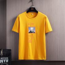 男士短袖t恤夏季薄款ins潮牌圓領休閑打底衫青年韓版修身男裝體恤