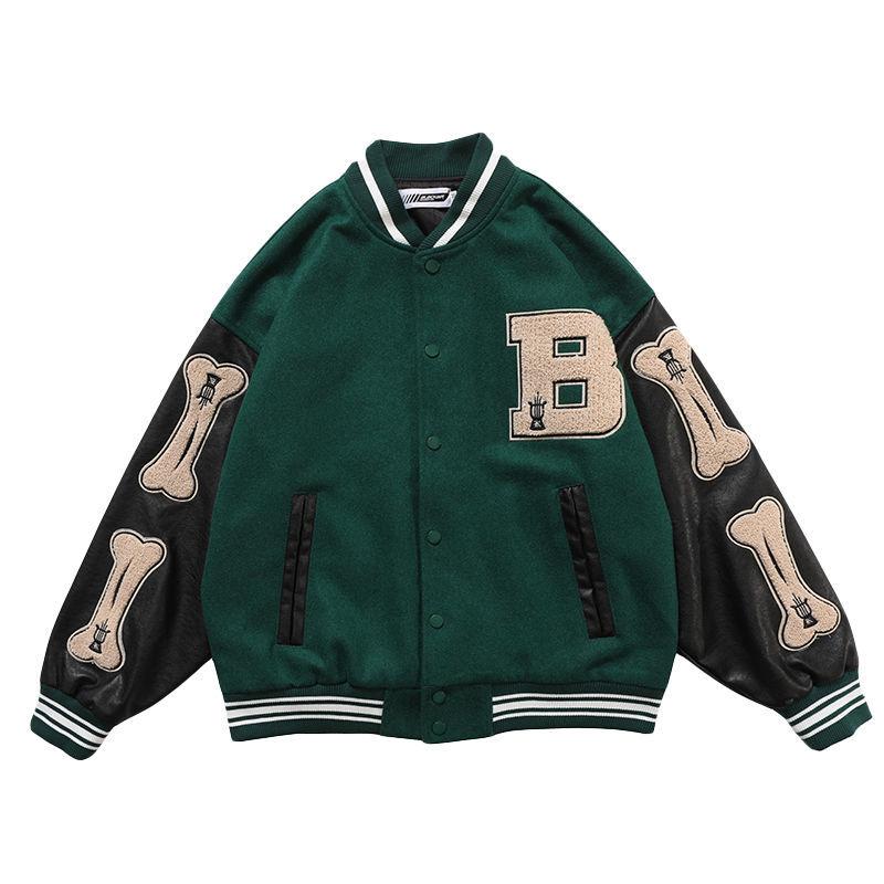 2021 Summer Hip hop Jackets Print Baseball Jacket Women Couple Bomber Unisex Racer Jacket Varsity Hiphop Streetwear Coat Girl