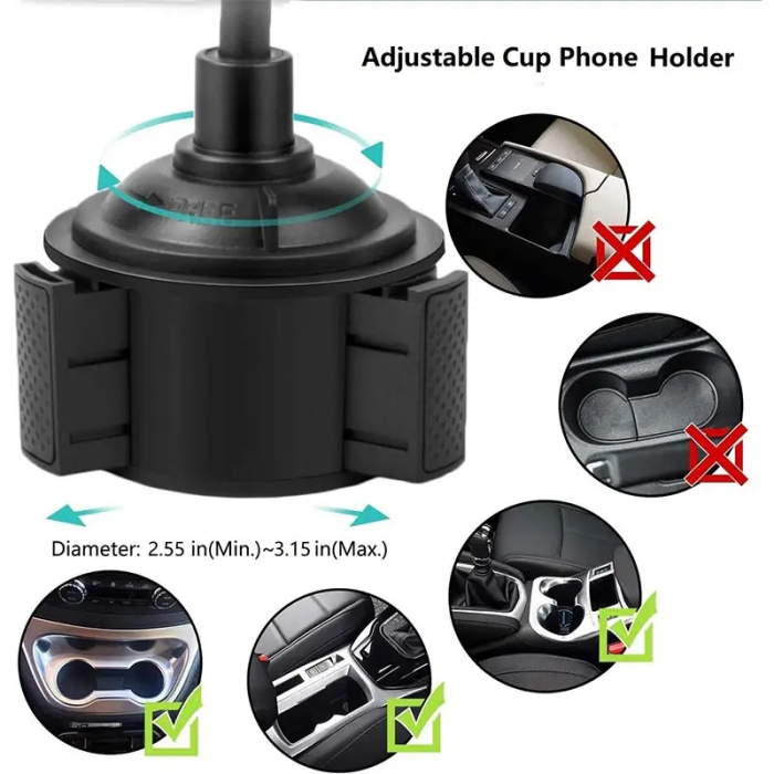 New Arrival!Cup Phone Holder for Car