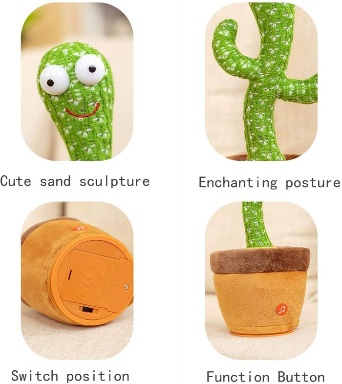 Electronic Dancing Cactus Toy With The Song