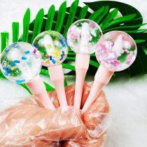 Lollipop Shape Cute Lip Gloss Mini Moisturize Lips Balm Lipgloss Lipstick Plumper Oil Long Lasting Base Makeup Lipgloss