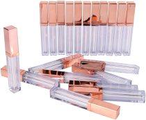 20Pcs 5Ml Lip Gloss Tubes Empty Lip Glaze Bottle DIY Lip Gloss Container Refillable Empty Bottles DIY Make Up Tool
