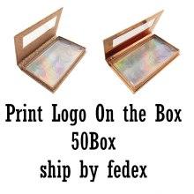 Custom  Link --Eyelash Packaging Box Wholesale Lashes Boxes Empty Eyelash Package Boxes Case
