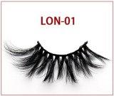 5D Mink Hair False Eyelashes 25MM Long Cross-Eyelashes Thick, Slender and Exaggerated Mink Individual Lashes Makeup Cosmetic