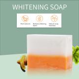 Private label Organic Kojic Acid Glutathione Lemon Whitening Bleaching Soap