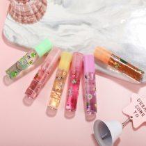 Mirror Water Lip Gloss Lip Glaze Transparent Glass Lip Oil Liquid Lipstick 6 Colors Randomly Lipgloss Moisturizing Make Up