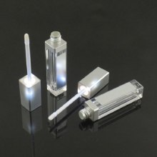 LED Lipgloss Tube with Mirror for Makeup liquid lipstick Lip gloss Packaging Empty Container light Custom Private Label 7 Ml