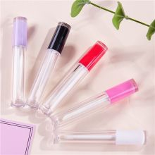 Lipgloss Wand tubes Empty Containers Plastic Makeup Packaging Liquid Lipstick Lip gloss DIY Bottle Custom Private label 5ml