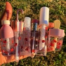 Crystal Jelly Lip Gloss Lip Plumper Oil Shiny Clear Moisturizing Women Lip Gloss Customize Balm Makeup Lip Tint