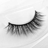 1 Pair 3D Mink Eyelashes Fluffy Dramatic Eyelashes Makeup Wispy Mink Lashes Natural Long False Eyelashes Thick Fake Lashes