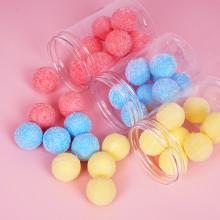 Drivworld 2021 Candy Bath Scrub Ball Cleans and Softens Horny Chicken Skin Brushed Peach Body Scrub