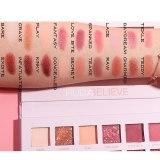New 18 Colors Nude Glitter Eyeshadow Matte Shimmer Palette Long Lasting Waterproof Mineral Powder Eye Shadow Makeup Cosmetic Kit