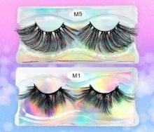 25mm lashes 3D mink eyelashes cruelty free 25mm mink lashes handmade crisscross dramatic eyelashes faux cil makeup lash