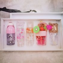 5 pcs/set Moisturizing Lipgloss Set Cosmetic Lip Tint Transparent Long Lasting 5pcs Lip Stick with Gift Box Lipstick Makeup