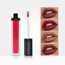 Custom Private Label Vegan Moist Nude Lipgloss Long Lasting Waterproof  High Pigmented Makeup Lip Cream